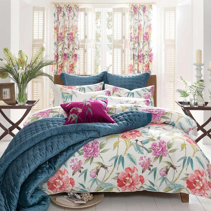 Dorma Cordelia Bed Linen Collection #bedding #tropical