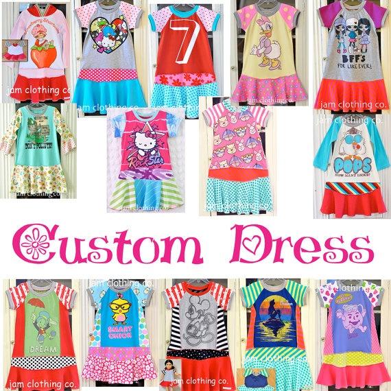 Jam Clothing Co  Custom Upcycle Dress by jamclothingcompany