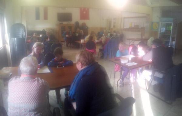 """#tStartblo kGroep6: """"Geweldige werkvorm, geweldige sfeer! Kinderen interviewen ouderen over vroeger. #Jeelo"""