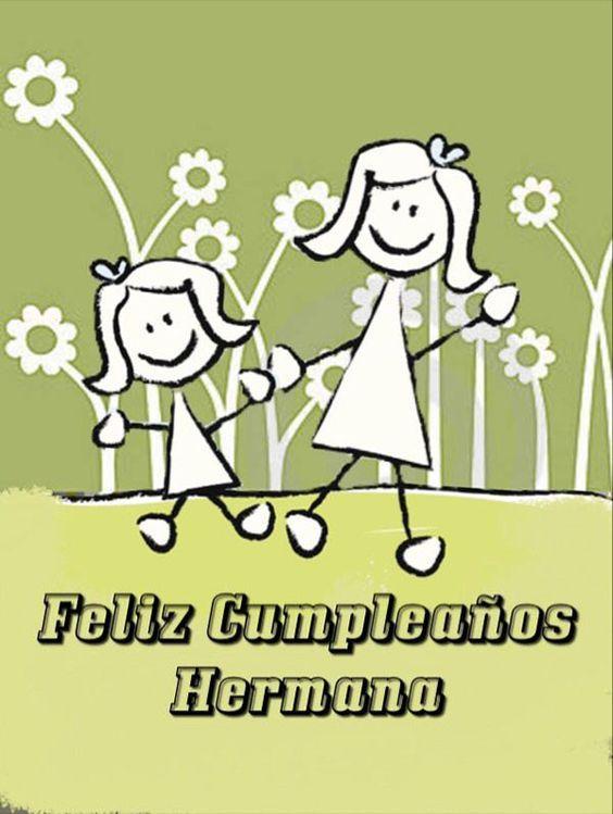 Mensajes y frases de Feliz cumpleaños para una hermana o hermano | Frases Hoy