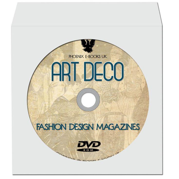 ART DECO Vintage Fashion Design Magazines 17 Rare Volumes on DVD Gazette du Bon Ton by PhoenixEbooksUK on Etsy