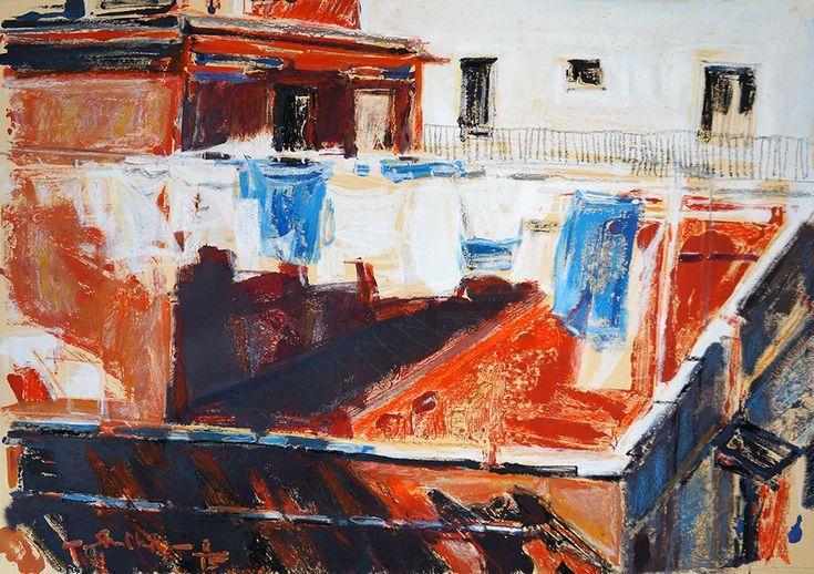 Helen Shulkin Color Transfer / Loundry in Llafranc