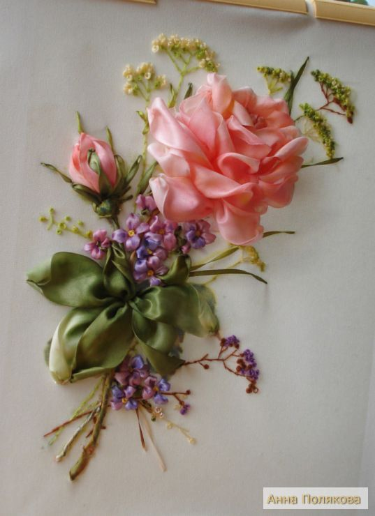 1000 Images About Silk Ribbon Embroidery And Ribbon Work