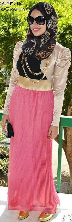 #Maleeka Hijab Design 2013   So Elegant.