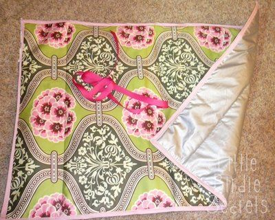 """Tabletop Ironing Pad -- not so """"for the home"""" like """"decorative"""", just very practical.  I do lots of little projects in our school/craft room that need a tiny bit of ironing and a board is overkill.  I'll put it on my list of projects to tackle later in the summer."""