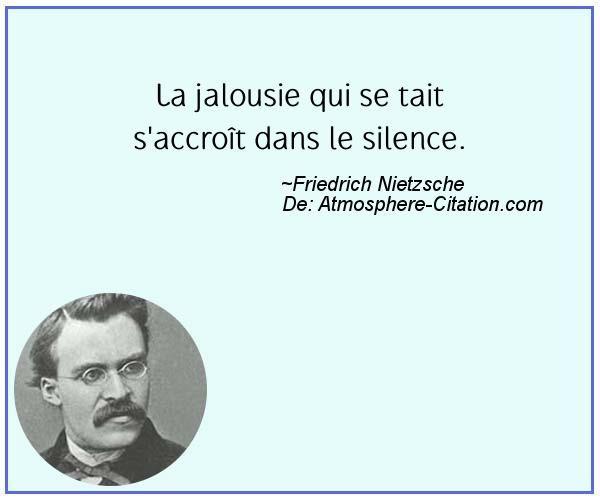La jalousie qui se tait s'accroît dans le silence.  Trouvez encore plus de citations et de dictons sur: http://www.atmosphere-citation.com/populaires/la-jalousie-qui-se-tait-saccroit-dans-le-silence.html?