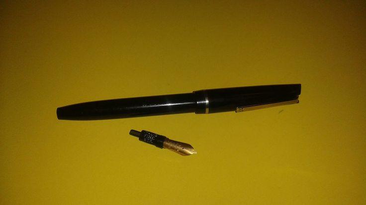 Vintage Calligraphy Pen Osmiroid England Fountain Black 2