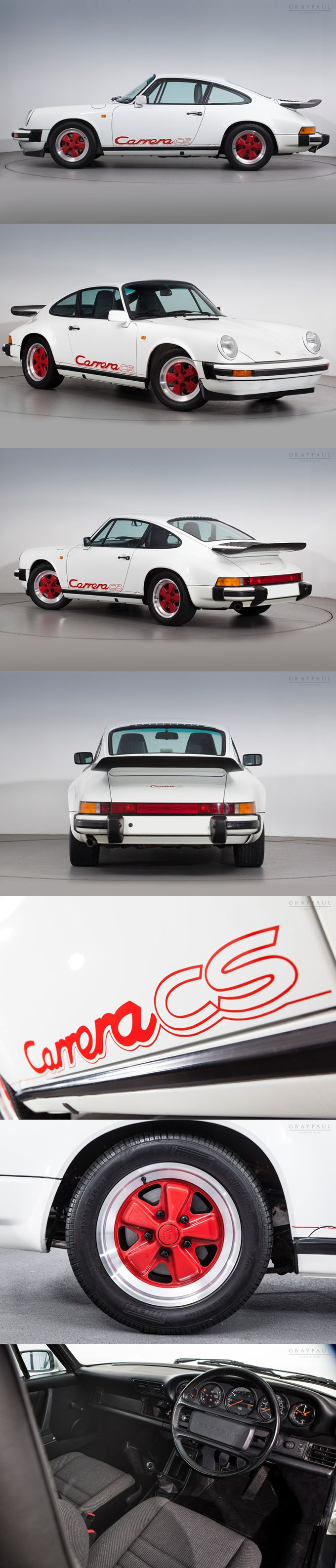 1987 Porsche 911 Carrera CS / Germany / Club Sport / red white / 340 manufactured