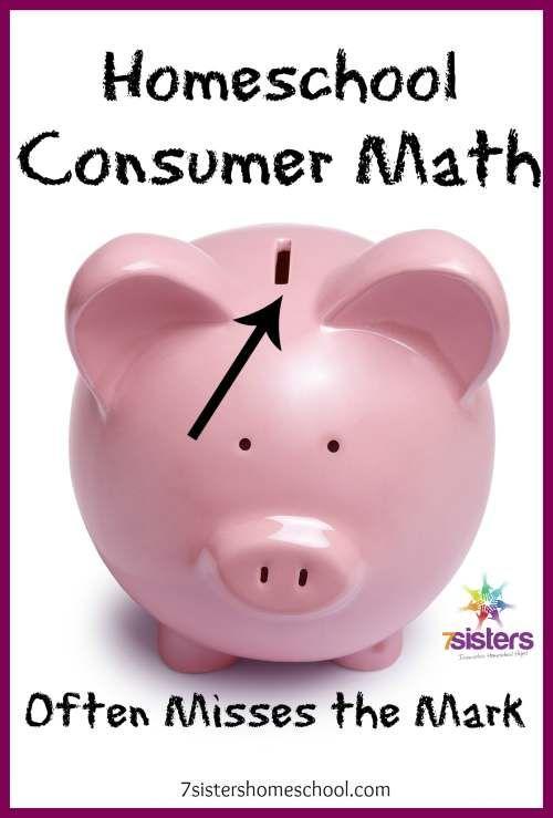 36 best Homeschool Consumer Math Ideas images on Pinterest ...