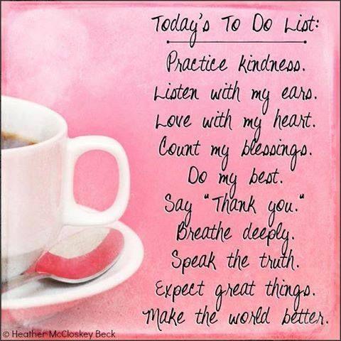Good Morning Friends! Happy Monday :)