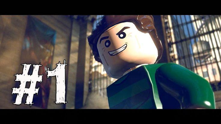 Lego Marvel Super Heroes Gameplay Walkthrough Part 1 - SAND CENTRAL STATION
