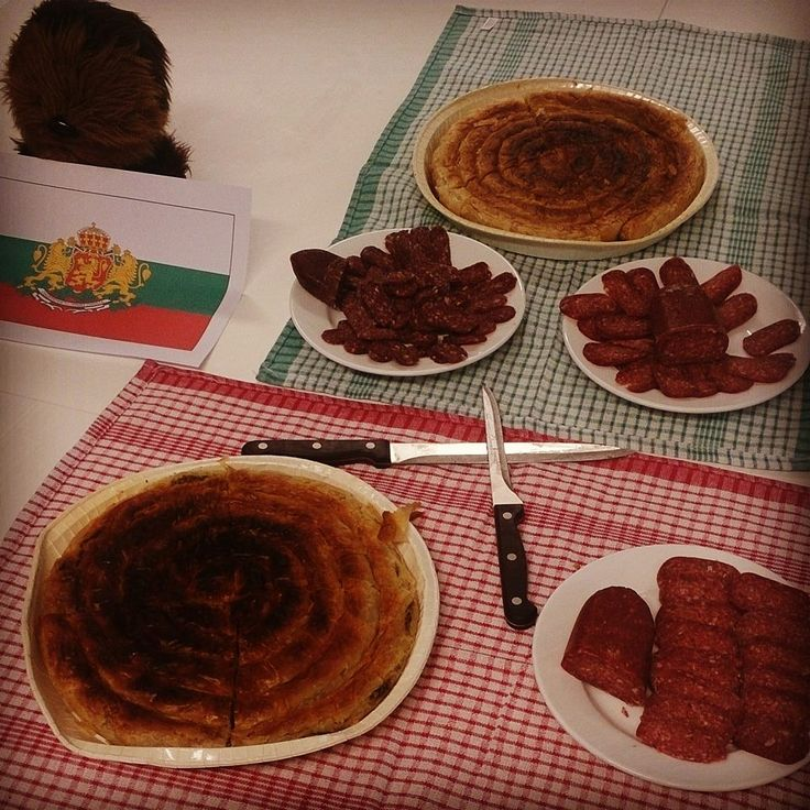 It's #CulturalFriday at blur - we have introduced some Bulgarian food!