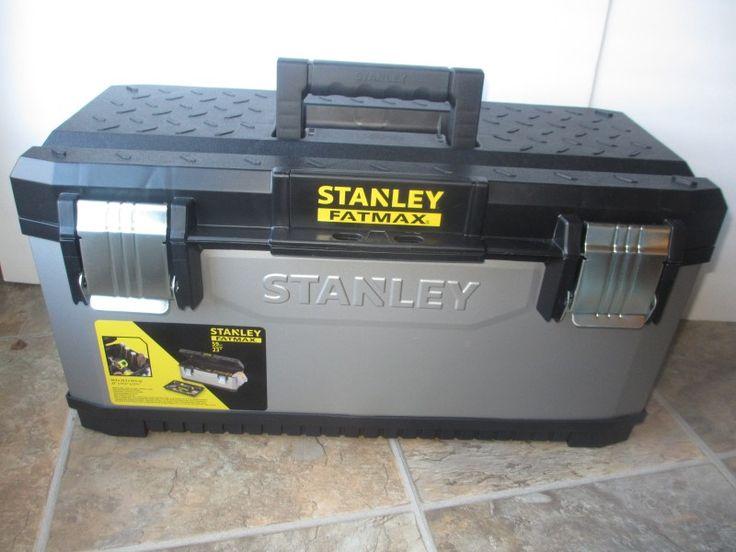 "Stanley fatmax tool box 23"""