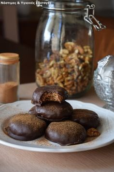 Καριόκες Χωρίς Ζάχαρη με 5 υλικά!!!! #Γλυκά