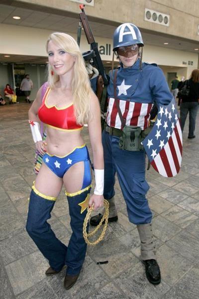 Костюм капитана америки девушка