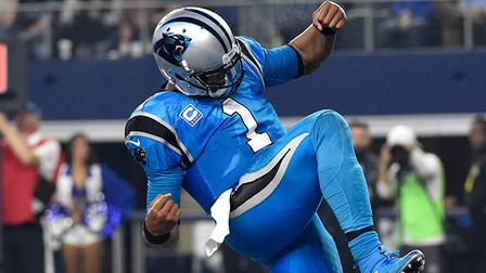 Cam Newton Panthers | Panthers Cam Newton runs in 4-yard TD - NFL Videos