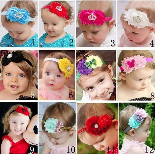Shop For Pretty Baby & Kids Headbands at www.babycouture.in Accessories section. #babyheadbands