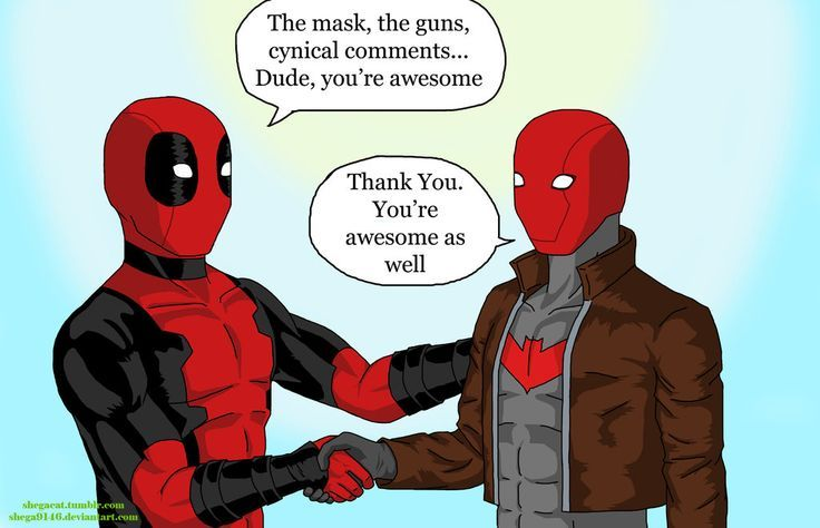 """A humorous request from a friend. She wanted a """"yaoi""""-ish moment between Red X and Robin from Teen Titans and yes I think Red X is Jason Todd. Robin, Red X, Teen Titans (C) DC comics - Visit to grab an amazing super hero shirt now on sale!"""