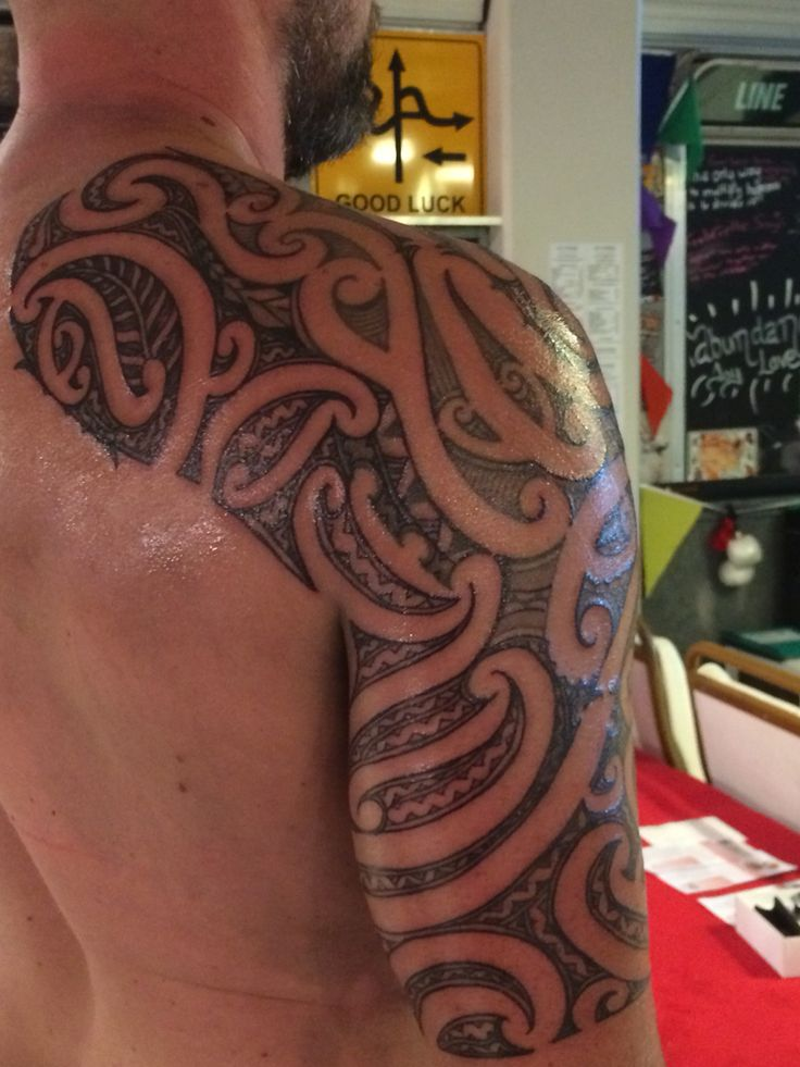 Ta Moko Tattoo: Ta Moko Rework And Add On