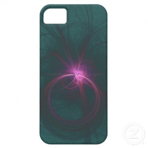 Pink and Green Fractal case iPhone 5 Cover
