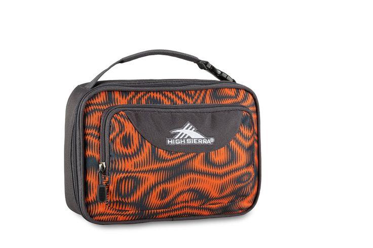 Amazon.com: High Sierra Single Compartment Lunch Bag, Faze/Mercury: Sports & Outdoors
