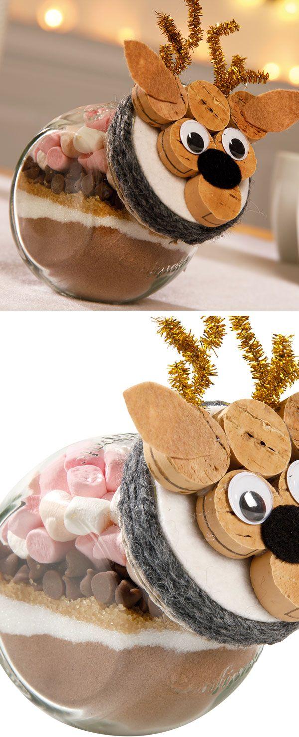 Kit chocolat chaud à offrir #Noël #Wesco | Idee cadeau noel, Noel