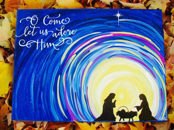 Beautiful Nativity scene by Shealyn Breen