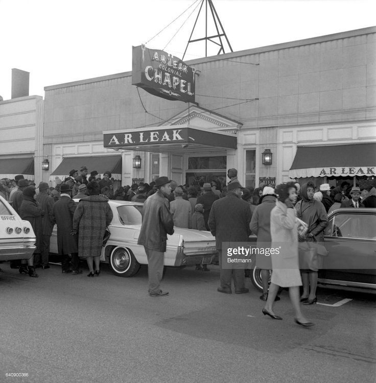A crowd awaits entry to the wake of Sam Cooke. Los Angeles coroner's jury returned a 'justifiable homicide' verdict 12/16 in the shooting of Cooke by a motel manager.