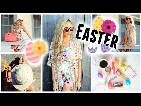 Easter Makeup + 2 Outfit Ideas! - http://47beauty.com/easter-makeup-2-outfit-ideas/   A simple, fun makeup look & outfits for the Easter weekend coming up! Be sure to let me know down below which outfit was your fav!  OUTFIT PICTURES AND LINKS:  http://www.kalynnicholson.com/2015/03/easter-makeup-outfit-ideas.html Product List: Olay Swirled Mattifyer Covergirl TruBlend Foundation Covergirl Eye Rehab Concealer Two Faced Primed and Poreless Pressed Powder Makeup Fore