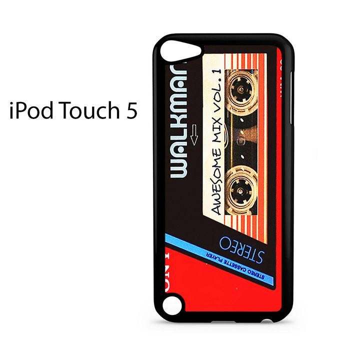 Walkman Awesome Mix Vol 1 Red Tape Ipod Touch 5 Case