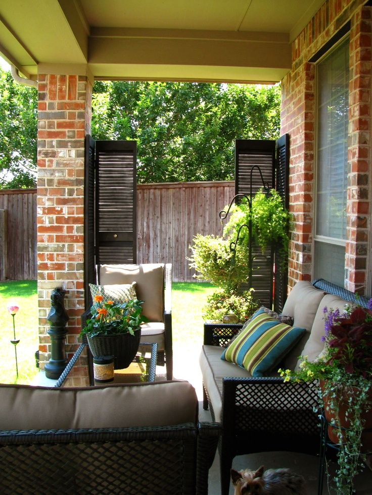 May Days A Small Patio Makeover Home And Garden Ideas