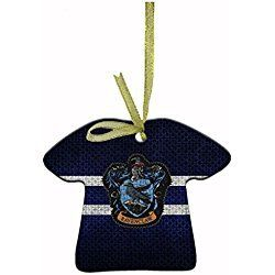 Harry Potter Ravenclaw Personalized Christmas ornaments unique ceramic ornament shapes containing beautiful clothes hanging ribbons