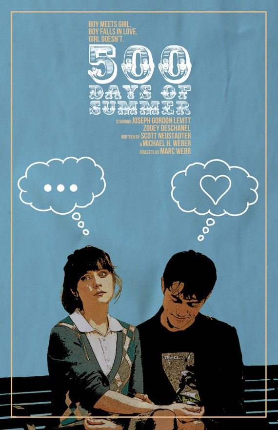 500 Days of Summer Film Poster v3