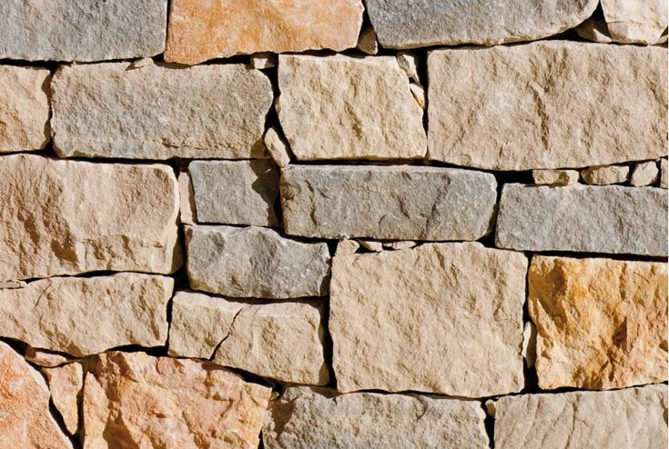 Misto Bordighera - B&B Natural Coverings   A captivating typical rustic wall dry-laid, that is delivered in four different kinds of stones in varying proportions. Stones: Deserto/Giallo Reale/Baita/Ruggine