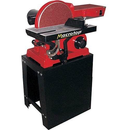 lixadeira combinada 750w com bancada e cavalete - macrotop