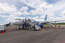 Sukhoi Superjet 100 en Campeche, Mexico