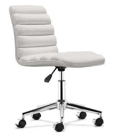 white admire office chair zulilyfinds