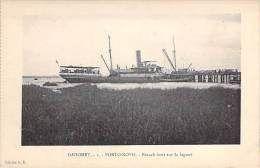AFRIQUE NOIRE - DAHOMEY ( ex AOF et actuel BENIN ) PORTO NOVO : Branch Boat sur la Lagune - CPA - Black Africa
