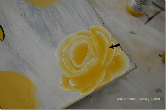 Step by step of painting roses full tutorial folk art for How to paint a rose step by step
