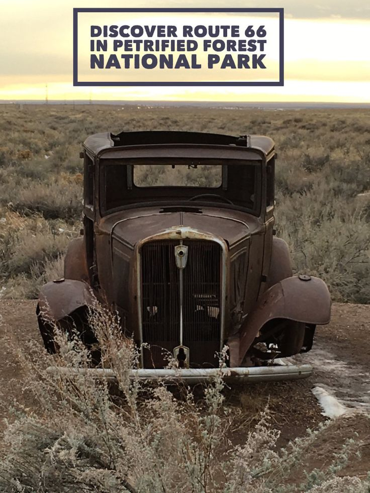 Discover Route 66 in Petrified Forest National Park on your Arizona Road Trip this Year
