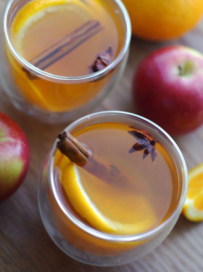 A great alternative to mulled wine, this festive winter drink of spiced mulled cider will warm you through from your head to your toes.