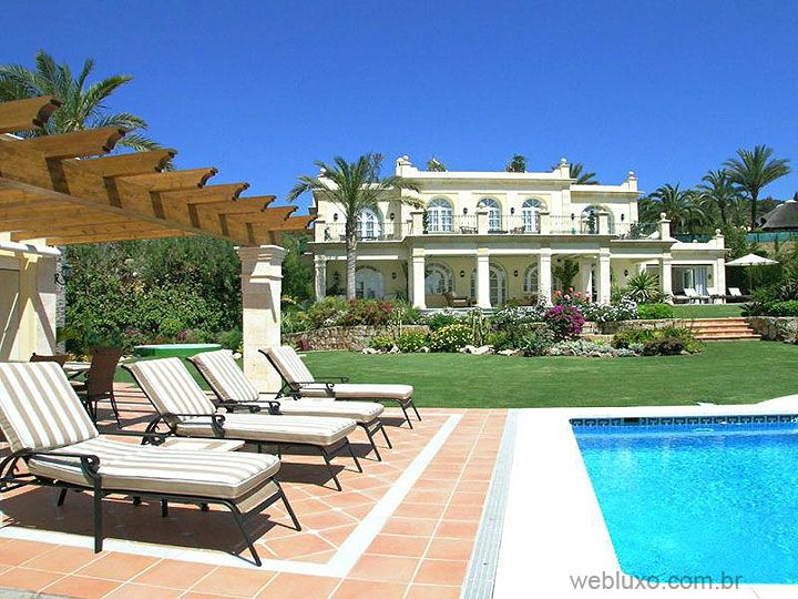 Web Luxo - Imobiliário: Mansão em Marbella - Espanha