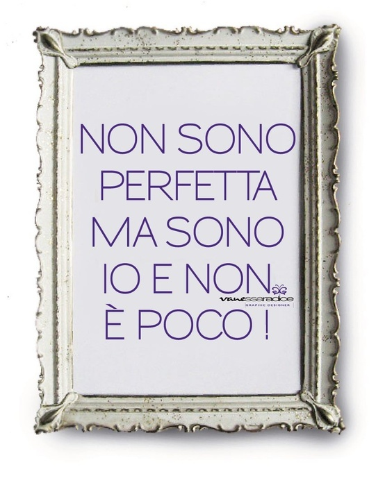 Bari: I'm not perfect, but I am who I am and that is more than good enough! >> Scopri le Offerte!