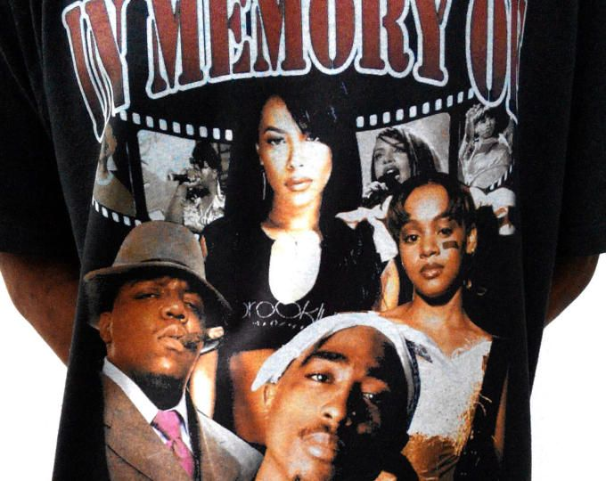 Browse unique items from Amber77Treasures on Etsy,  #HIphop Tee #tupac tee #aaliyah t shirt #tlc t shirt