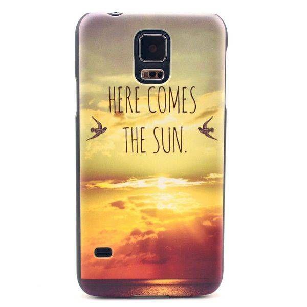 Here Comes The Sun hoesje voor Samsung Galaxy S5