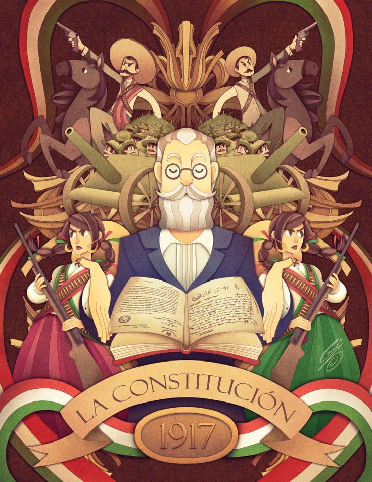 La Constitución de 1917 by SaiyaGina