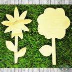 Flower Wood Cut Outs.