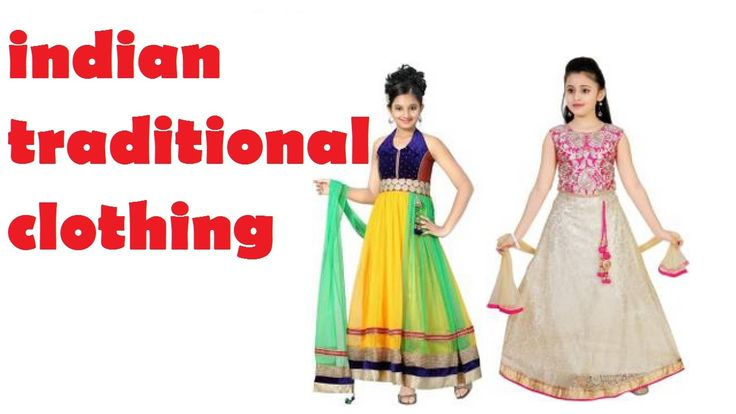 Kids Dress Designs For Girls Kids Indian Traditional -4718