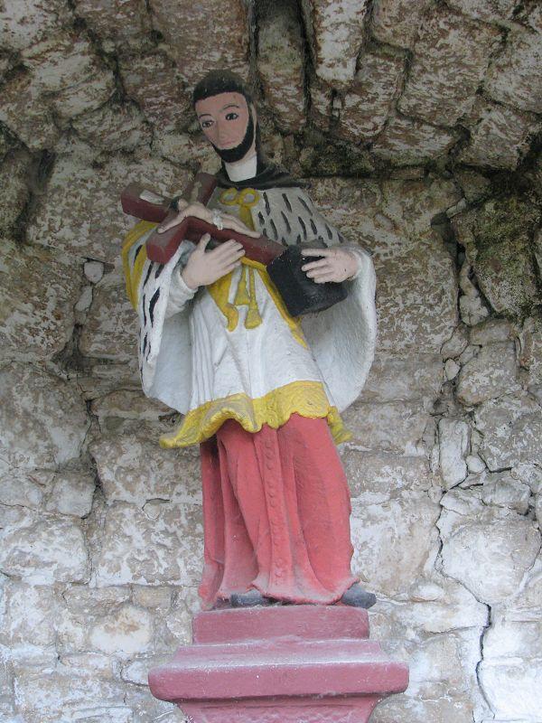Nepomuki Szent János szobor (Sóskút) http://www.turabazis.hu/latnivalok_ismerteto_5138 #latnivalo #soskut #turabazis #hungary #magyarorszag #travel #tura #turista #kirandulas