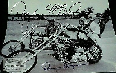 EASY-RIDER-1969-8-10-autographed-RP-lustre-PHOTO-3sigs